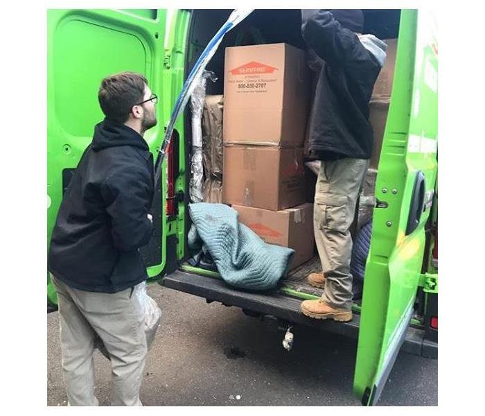 Why SERVPRO Pack-Out Services